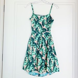 Olive + Oak Tropical Dress